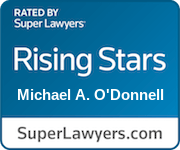 Super Lawyers Rising Star Michael A. O'Donnell