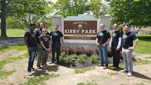 Picture of O'Donnell Law Offices helps erect Kirby Park sign