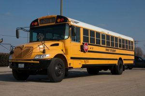 Picture of First Student school bus