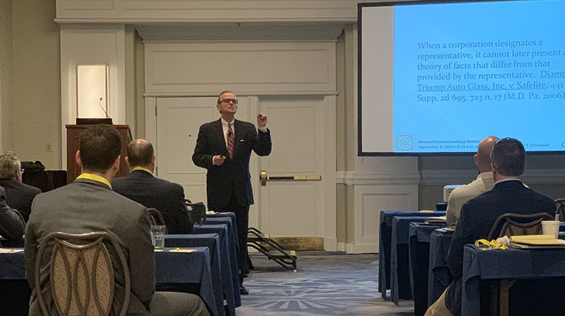 Neil Presents at a Connectionology Seminar in Newport, RI